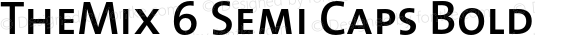 TheMix 6 Semi Caps Bold 1.0