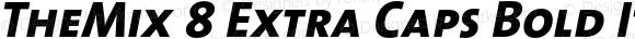 TheMix 8 Extra Caps Bold Italic 1.0