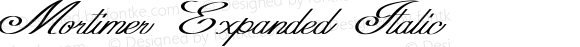 Mortimer Expanded Italic