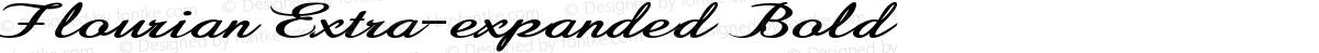 Flourian Extra-expanded Bold