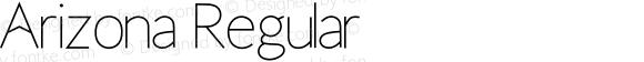 Arizona Regular Version 1.004;Fontself Maker 1.1.1