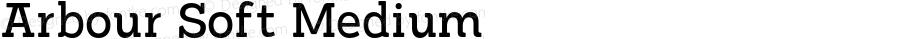 Arbour Soft Medium Version 1.000;PS 001.000;hotconv 1.0.88;makeotf.lib2.5.64775