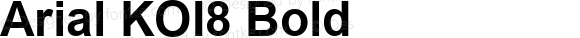 Arial KOI8 Bold Version 2.55