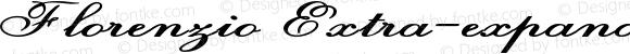 Florenzio Extra-expanded Bold