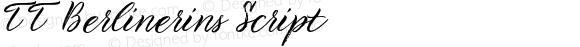 TT Berlinerins Script