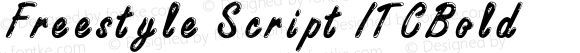 Freestyle Script ITCBold