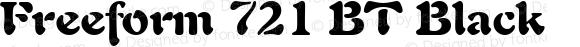 Freeform 721 BT Black