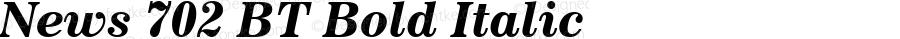 News 702 BT Bold Italic spoyal2tt v1.25