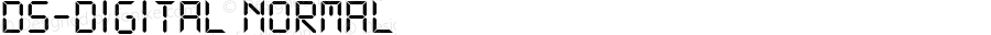 DS-Digital Normal DS core font: V1.00 Sun Jan 03 08:19:29 1999