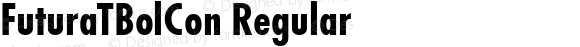 FuturaTBolCon Regular Version 1.05
