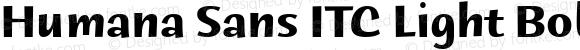 Humana Sans ITC Bold