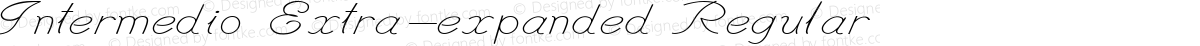 Intermedio Extra-expanded Regular