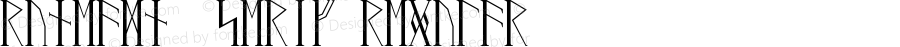RuneAMN_Serif Regular Version 1.20170509