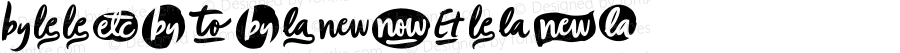 ZoojaCatchwords ☞ Version 1.000;com.myfonts.easy.aerotype.zooja.catchwords.wfkit2.version.4F4G