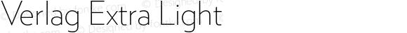 Verlag Extra Light