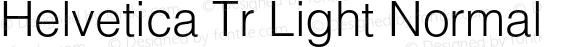 Helvetica Tr Light Normal