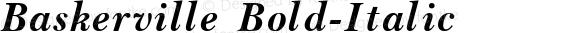 Baskerville Bold-Italic