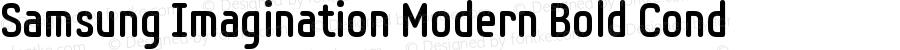 Samsung Imagination Modern Bold Cond Version 001.001