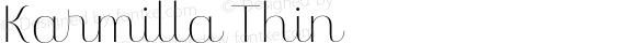 Karmilla Thin