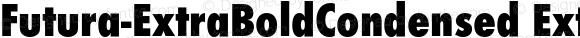Futura-ExtraBoldCondensed ExtraBoldCondensed 001.001