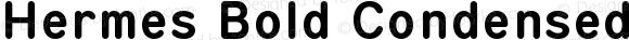 Hermes Bold Condensed