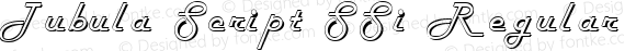 Tubula Script SSi Regular 001.003