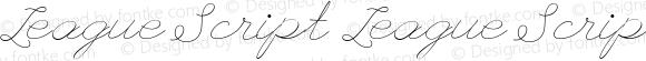 League Script League Script Version 1.0