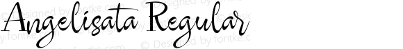 Angelisata Regular Version 1.000
