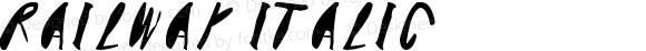 Railway Italic