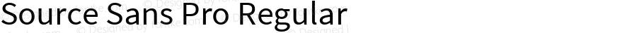 Source Sans Pro Regular