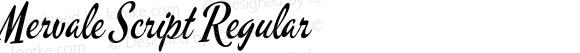 Mervale Script Regular