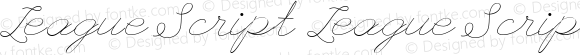League Script League Script