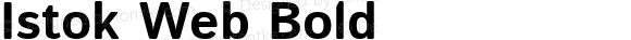Istok Web Bold