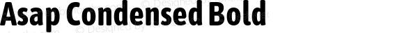 Asap Condensed Bold