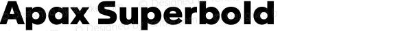 Apax Superbold Version 1.000