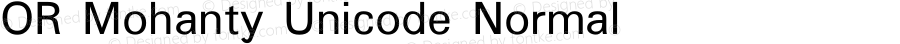 OR Mohanty Unicode Normal Version 1.00 2014