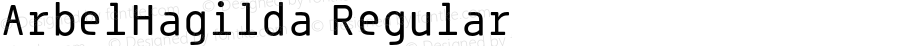 ArbelHagilda Regular Version 001.001