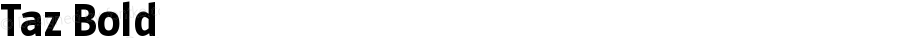 Taz Bold OTF 3.001;PS 003.000;Core 1.0.34
