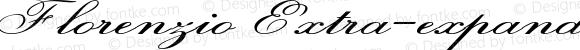 Florenzio Extra-expanded Italic