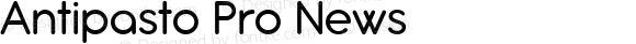 Antipasto Pro News Version 1.000