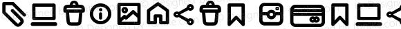 Antipasto Icons DemiBold Version 1.000 | wf jerry