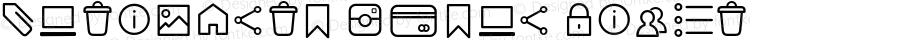 Antipasto Icons Light Version 1.000 | wf jerry