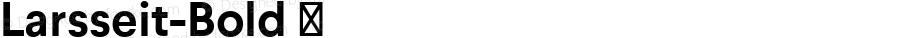 Larsseit-Bold ☞ 1.000;com.myfonts.typedynamic.larsseit.bold.wfkit2.gq67