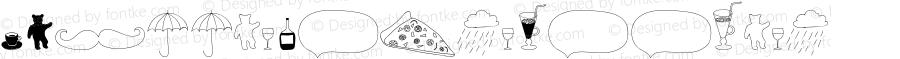 A Little House Doodles Version 1