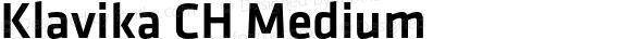 Klavika CH Medium