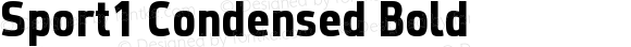 Sport1 Condensed Bold