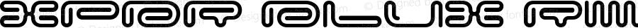 XPDR DLUX Regular Macromedia Fontographer 4.1 25/04/2003