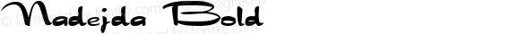 Nadejda Bold Version 1.4; 2001