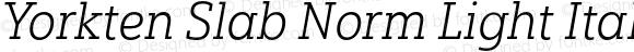 Yorkten Slab Norm Light Ital