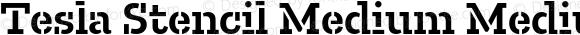 Tesla Stencil Medium Medium